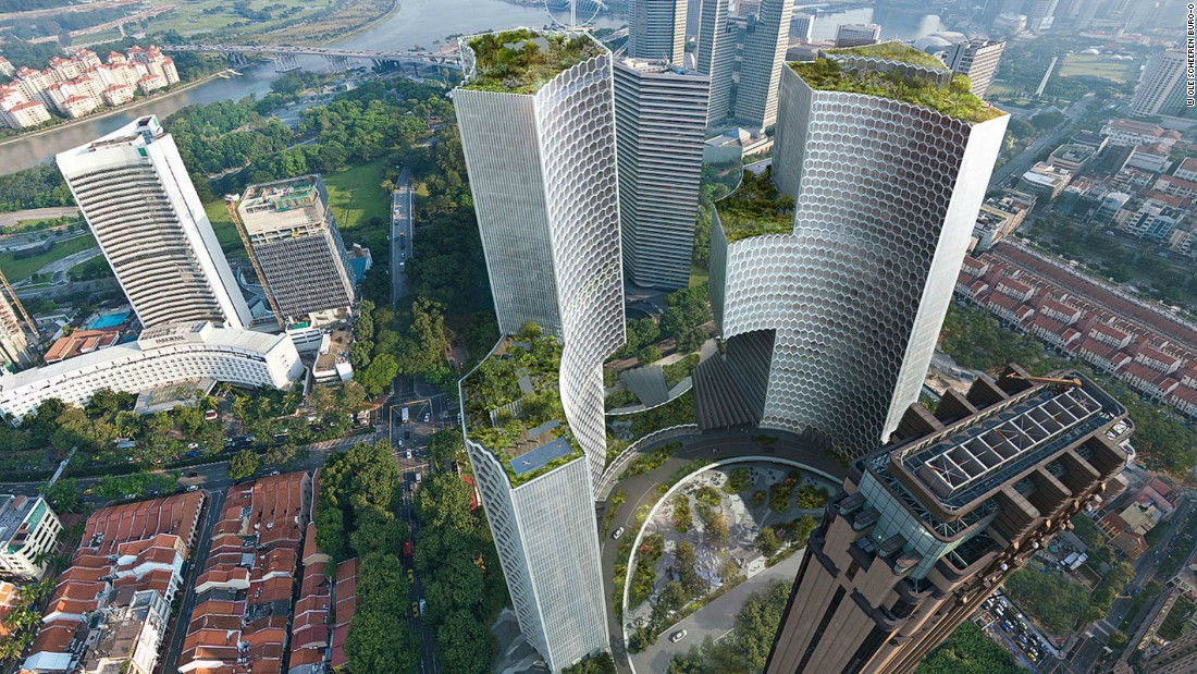 Building the future singapore 39 s stunning architectural for Top design hotels india