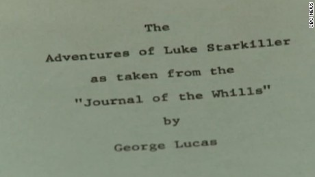 librarian uncovers original 1976 star wars shooting script pkg_00004217