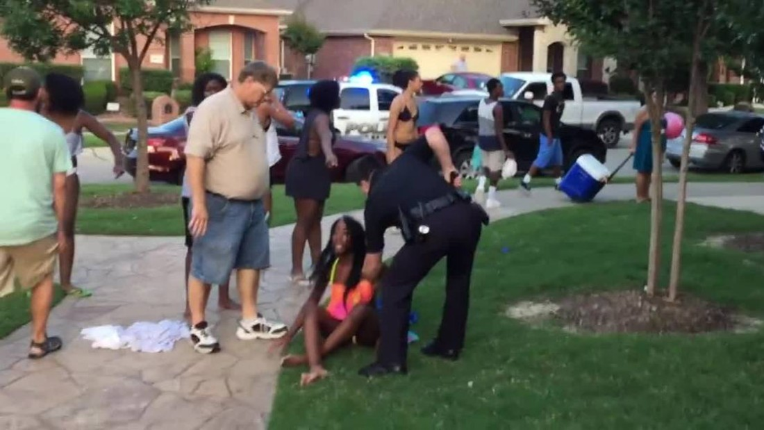 Texas Pool Party Chaos: Police Officer Resigns