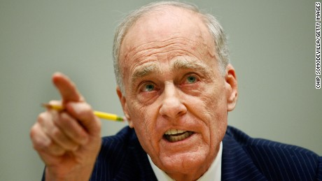 Former Los Angeles prosecutor Vincent Bugliosi testifies before the House Judiciary Committee during a hearing on the 'Executive Power and Its Constitutional Limitations' at the Rayburn House Office Building on Capitol Hill July 25, 2008 in Washington, D.C.  Bugliosi, 80 years old, a prosecutor who successfully prosecuted Charles Mason, died  Monday, June 8, 2015, according to his son.