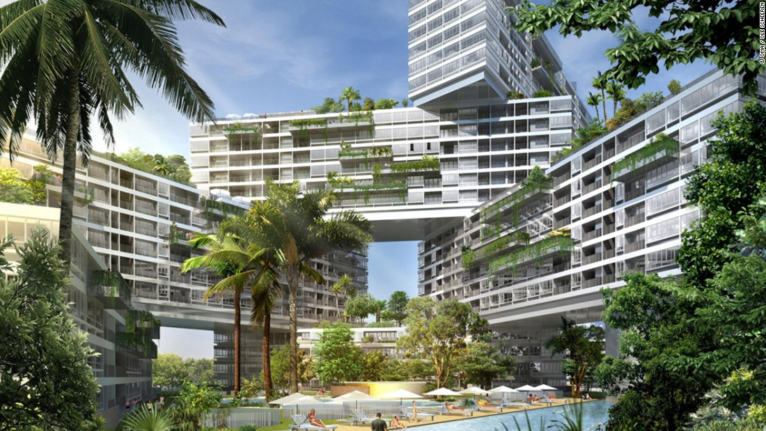 building the future singapores stunning architectural projects cnn travel - Cool Real Architecture Buildings