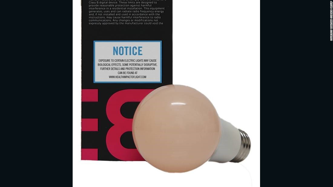 Warning labels on your light bulbs