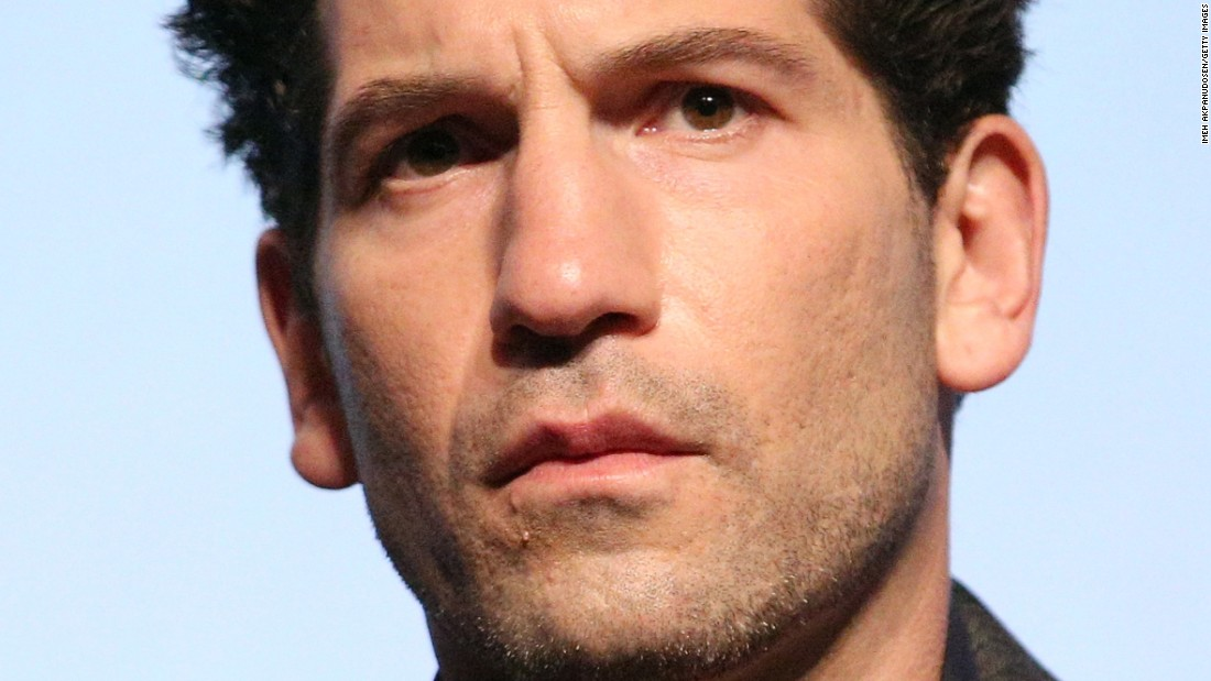 """The Walking Dead"" star Jon Bernthal is fan favorite Punisher in the second season of Netflix's ""Daredevil"" series."