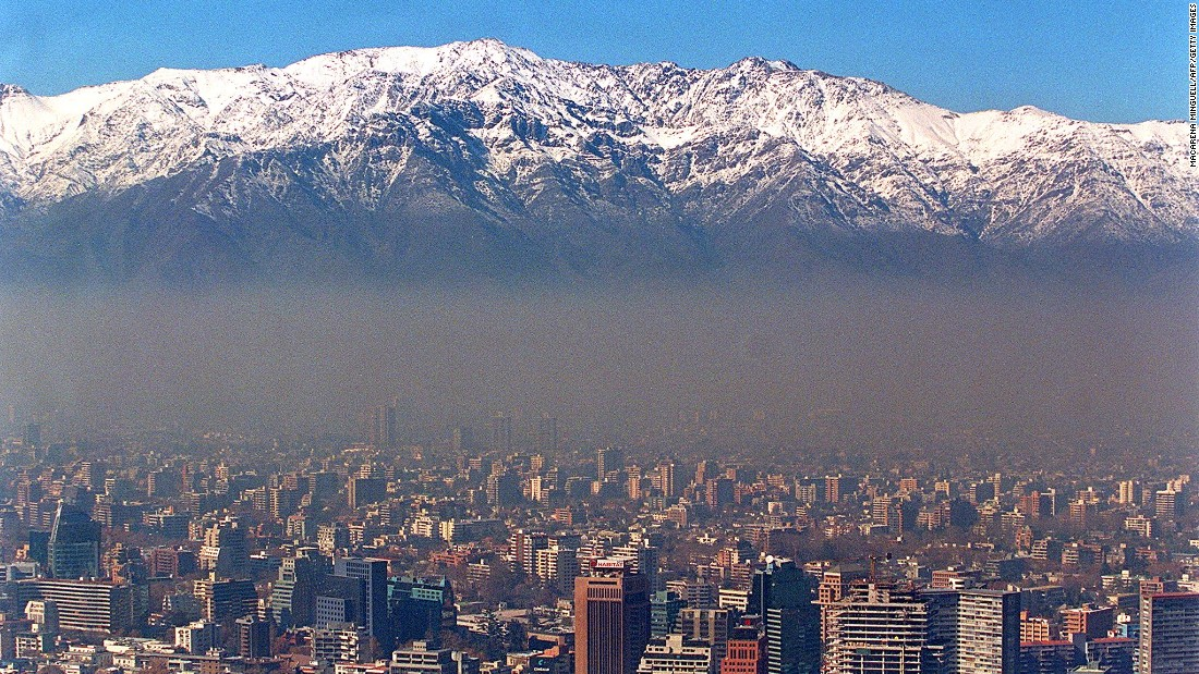 Chile's capital has two stadiums hosting matches during Copa America 2015. The Andes mountain range provides a stunning backdrop to Santiago, which regularly has problems with lingering smog.