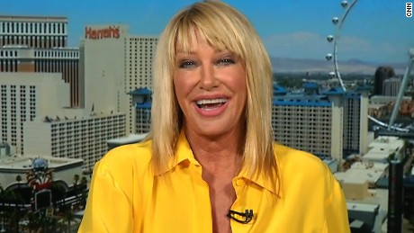 Suzanne Somers talks with CNN's Ashleigh Banfield