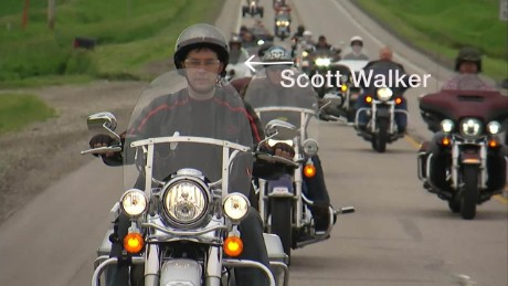 Harley Davidson Iowa voters weigh in on Republican Scott Walker Joni Ernst Roast and Ride origwx gr_00001418