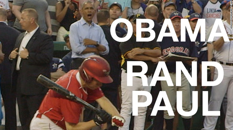 Rand Paul strikes out while Obama cheers