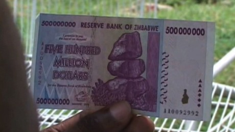 Zimbabwe ditching its national currency