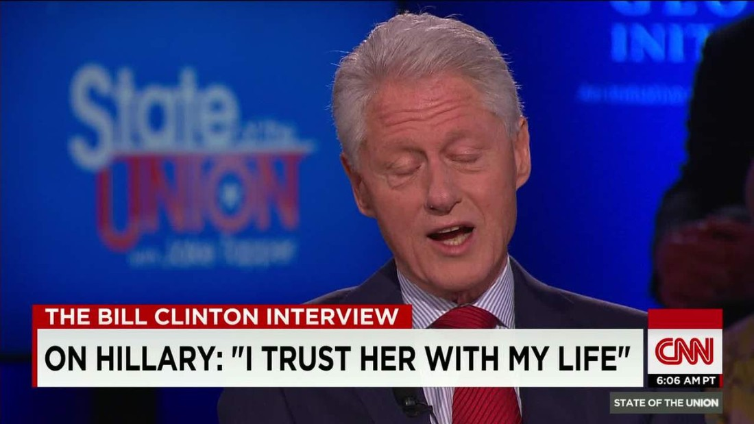 Bill Clinton opens up about his relationship with Hillary