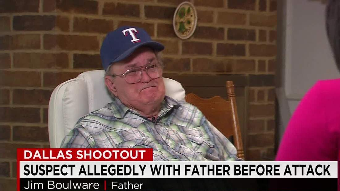 Dallas shooter's father: My son hit his breaking point
