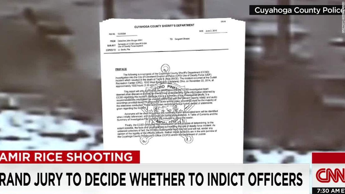 Tamir Rice report: No proof police officer shouted warning before shooting