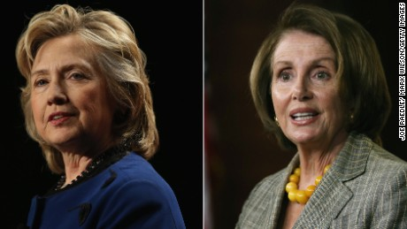 Pelosi endorses Clinton on California primary day