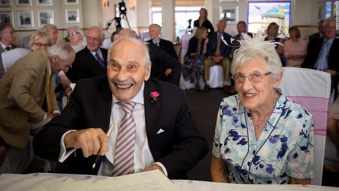 Couple could become world's oldest newlyweds - CNN