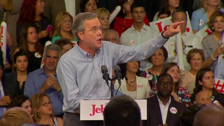 Jeb Bush Immigration protesters _00002801