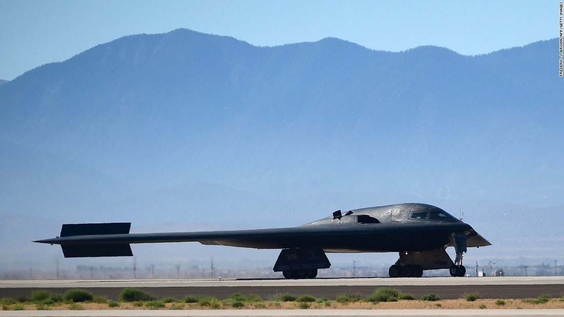 B-2 stealth bombers have been sent to bases in England as part of U.S. military exercises in Europe.