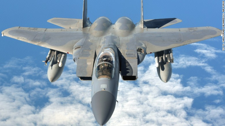 U.S. Air Force jets ready to defend Super Bowl airspace