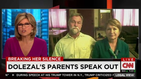Dolezal Parents: 'She's still dodging the question'