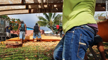 Culture is being used to fight climate change in Majuro, Marshall Islands.