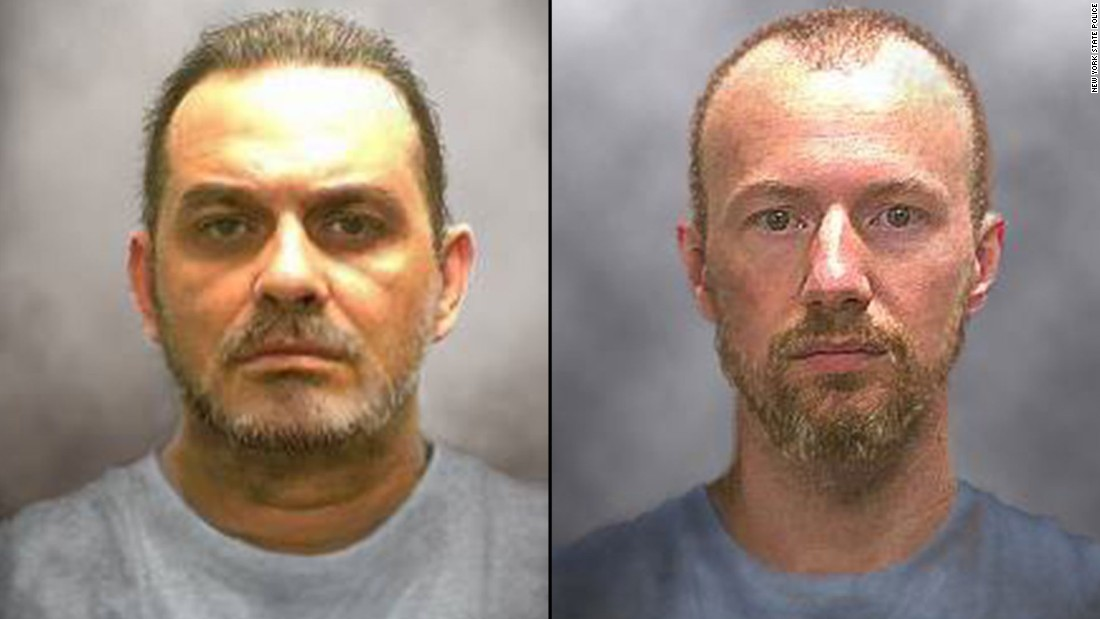 Focus of hunt for New York fugitives shifts to area west of prison