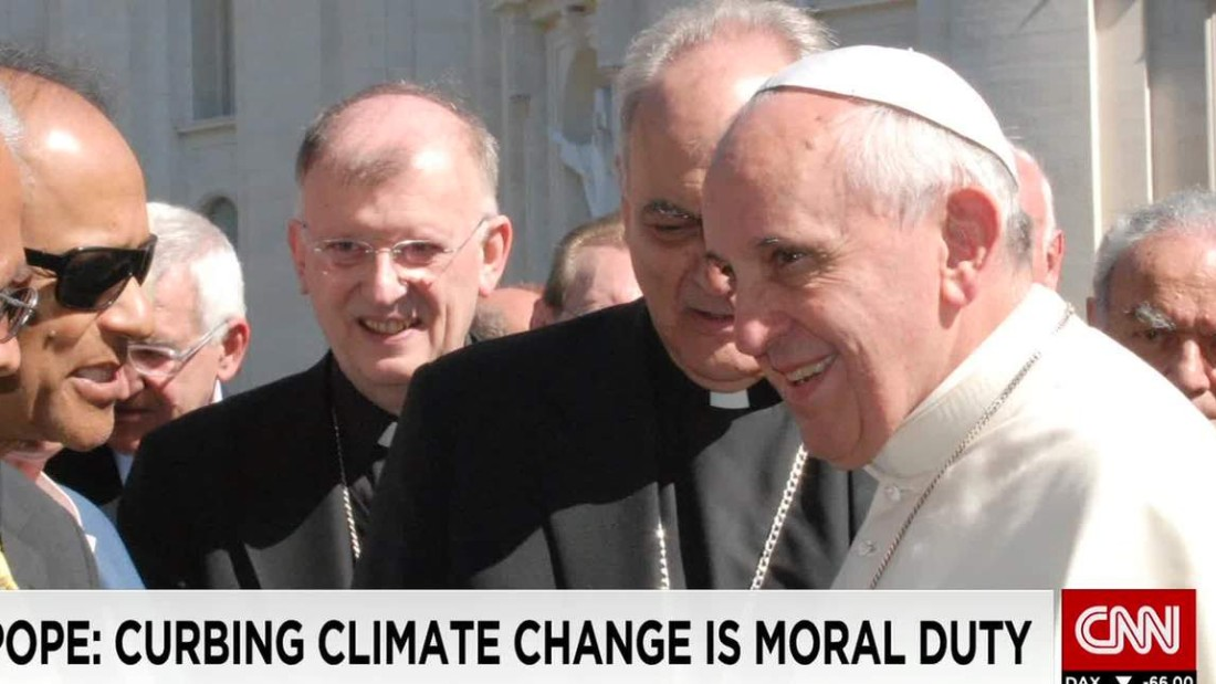 How a scientist in a parking lot may have influenced the Pope and climate change