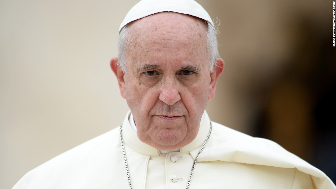 Pope Francis: 'Revolution' needed to combat climate change