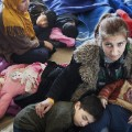 Syrian refugee mother rescued