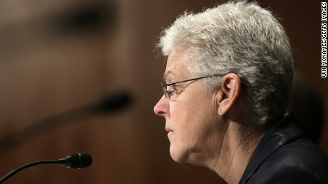 EPA Administrator Gina McCarthy in June 2015 photo.