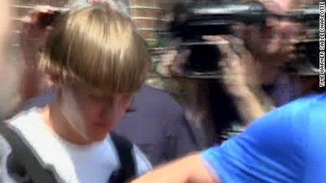 Video of Charleston church shooting suspect