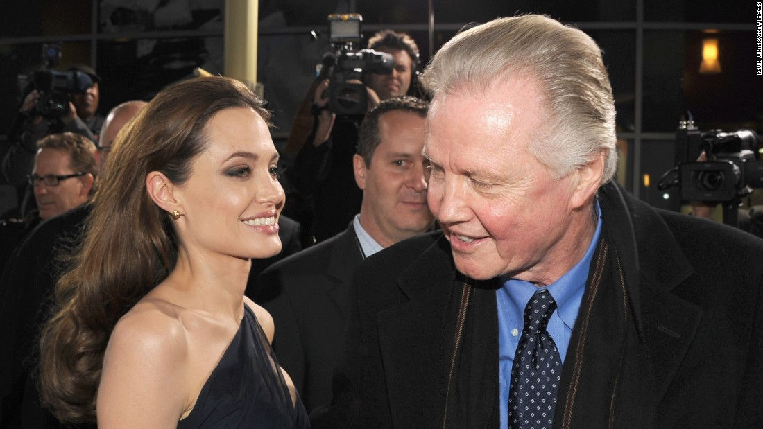 Angelina Jolie and her Oscar-winner dad Jon Voight share more than just a passion for stage and screen. Neither is shy about using star power to highlight topics they feel passionately about. She works to highlight the plight of refugees while he, has been active in support of Republican political candidates and conservative causes.