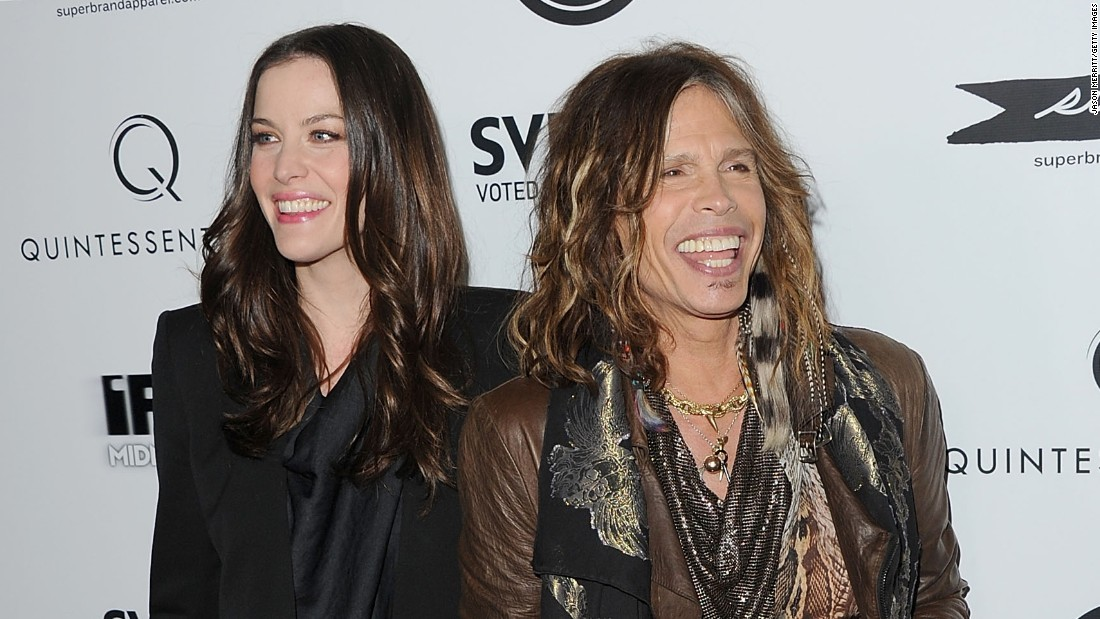"Most daughters might find it awkward to have their dad sing the soundtrack to their movie makeout session (we're talking about ""Armageddon"" for those not following), but Liv Tyler seems to have been OK with it. Maybe that's what happens when you have a dad as cool (and famous) as Steven Tyler."