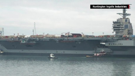 $13 billion warship is first of its kind