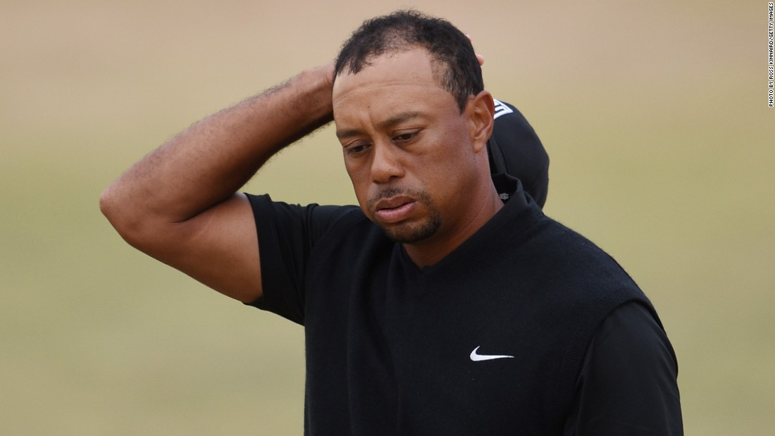 Tiger Woods endured a nightmare start to the tournament with a 10-over 80, his worst round at a U.S. Open.