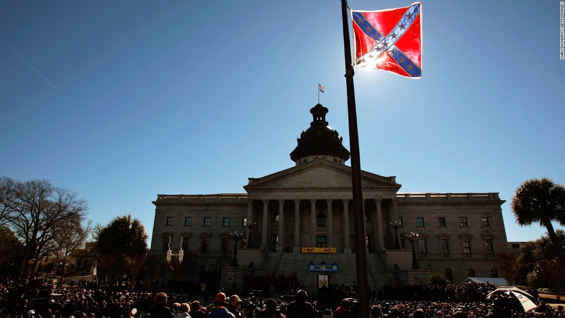 On Confederate flag, southern white Christians do some soul searching
