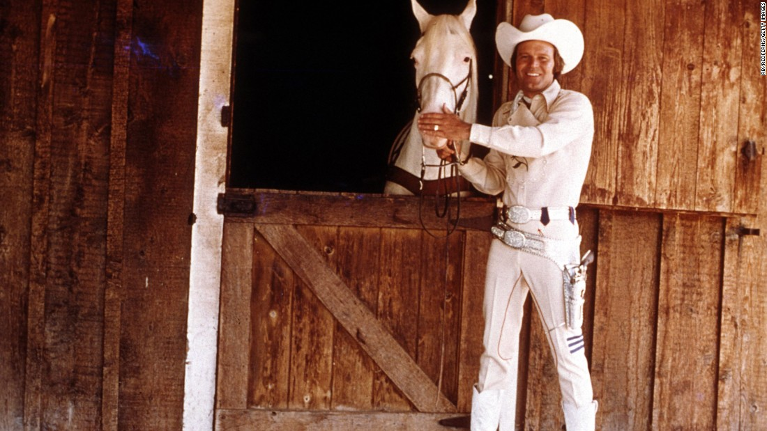 "Campbell's iconic album ""Rhinestone Cowboy"" was released in 1975."