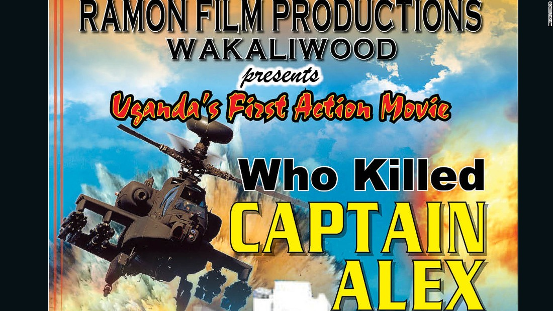 Poster for the 2010 film Who Killed Captain Alex? The movie's trailer has had more the 2 million views on YouTube.