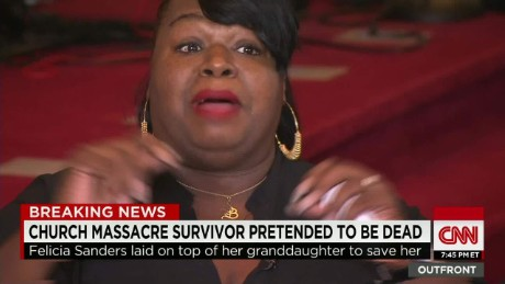 Felicia Sanders survived the shooting.