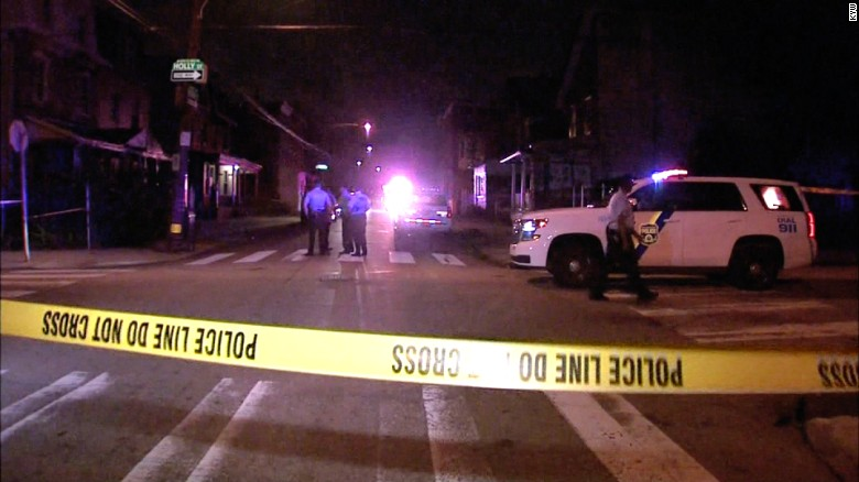 Gunmen open fire at Philadelphia neighborhood block party