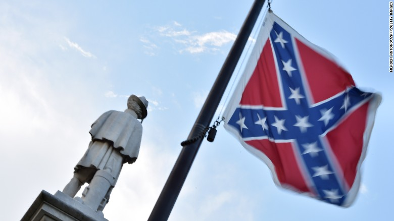Where the Confederate flag is still seen