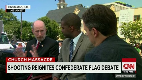 SOTU Tapper: Shooting reignites Confederate flag debate_00011722