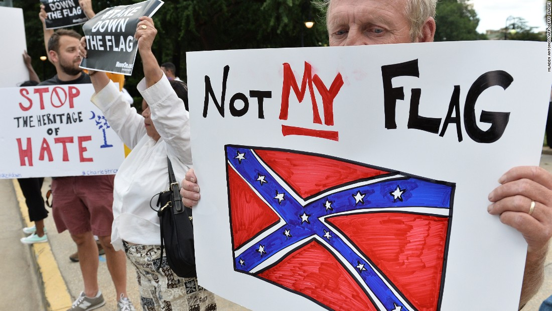Inside the battle over the Confederate flag