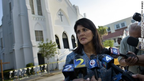 Nikki Haley seizes the political moment amidst Confederate flag debate
