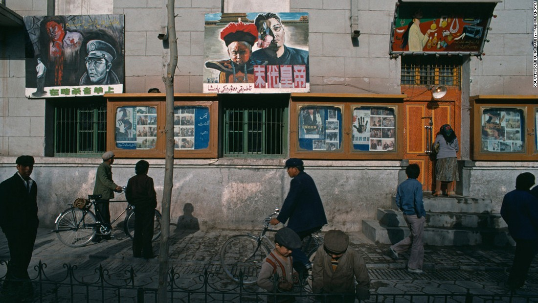 Barbey also traveled to China's western Xinjiang province, home to many of the country's Uyghur minorities.