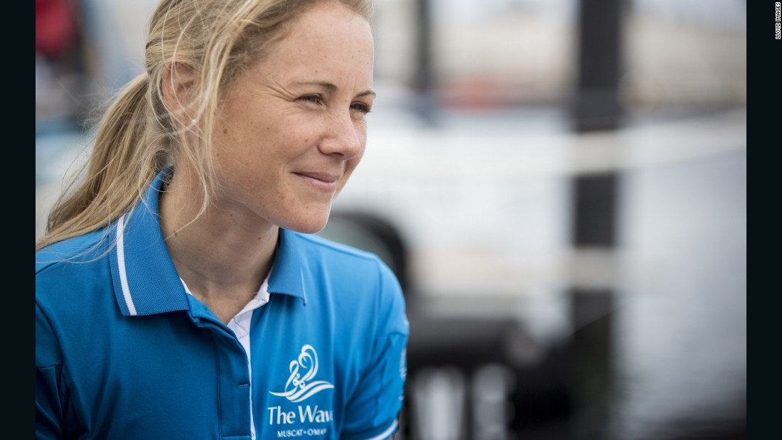 "Sarah Ayton is one of only two female competitors (out of a total of 45) in the Extreme Sailing Series, often described as ""Formula One on water."""