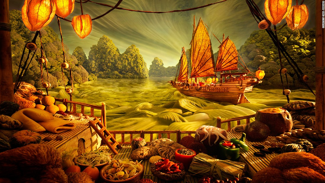 Carl Warners Food Landscape Photography CNN Travel - 15 fantasy landscapes entirely made from food
