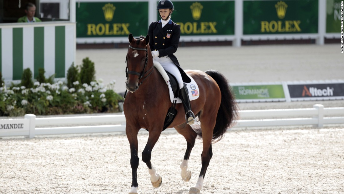 At the start of 2014, the pair weren't even on the ranking list of more than 700 riders, but six months later they had rocketed into the top 10. Their rise was cemented with a fifth place at the World Equestrian Games last year.