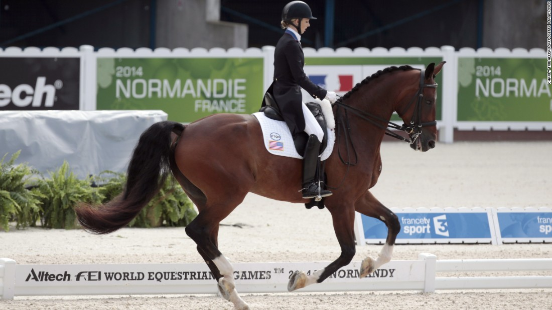 Graves' dedication began to pay off in 2014 as she and Diddy started to compete in international dressage events.