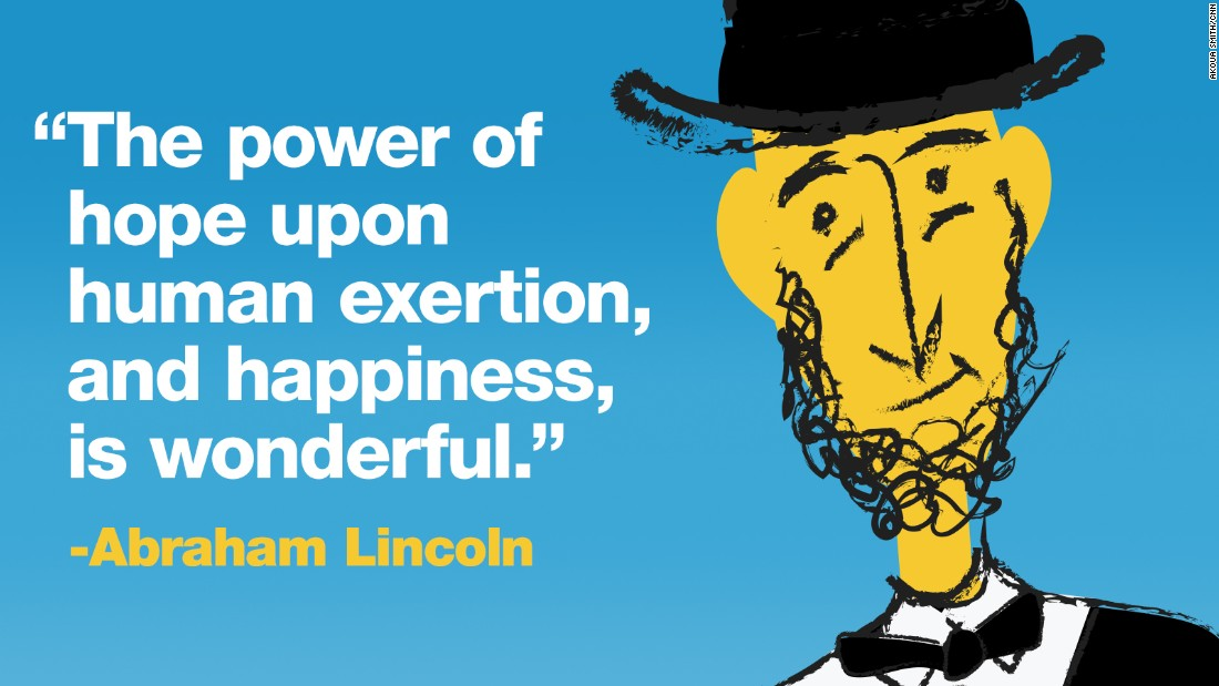 Project Happy quotes lincoln