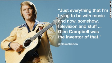 GLEN CAMPBELL -- Pictured: Musician Glen Campbell -- (Photo by: NBC/NBCU Photo Bank)