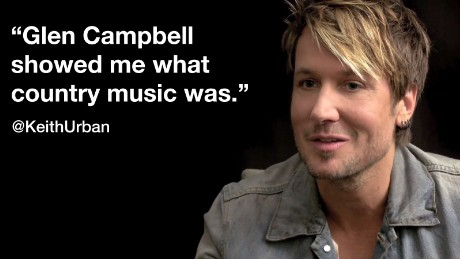 "Keith Urban in the CNN Film ""Glen Campbell ... I'll Be Me"""