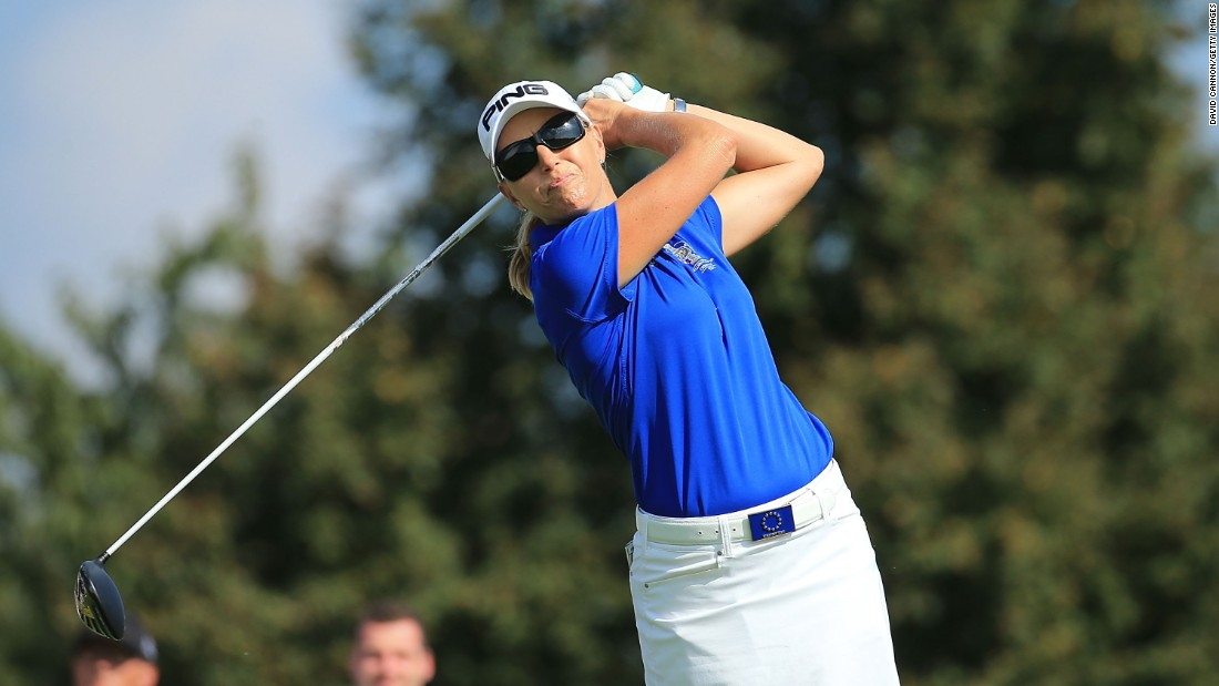 Koch took part in three Solheim Cups as a player and was part of a winning European team in 2000 and 2003.